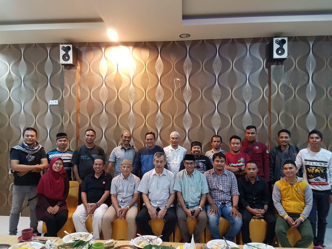Kabinda Gorontalo melakukan silaturahmi bersama Wartawan Gorontalo