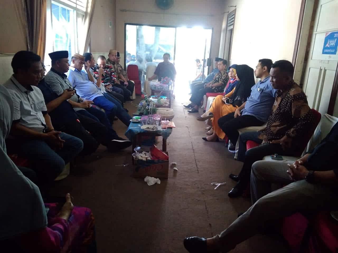 Pertemuan kader Demokrat Gorontalo