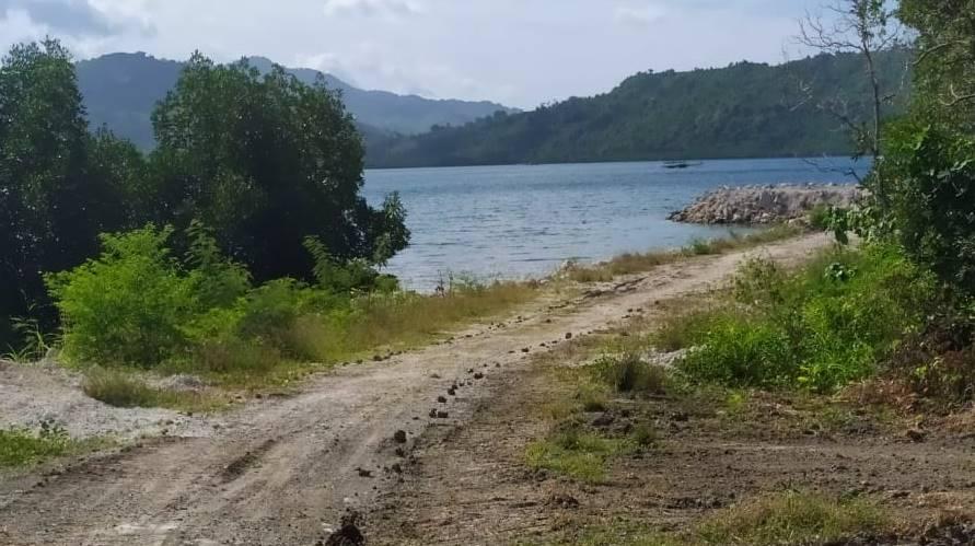 Diduga pembabatan mangrove untuk pembukaan jalan dan pembangunan Pelabuhan Kapal Batu Picah