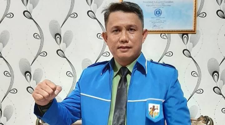 Ketua KNPI Provinsi Gorontalo Rachmad Mohamad