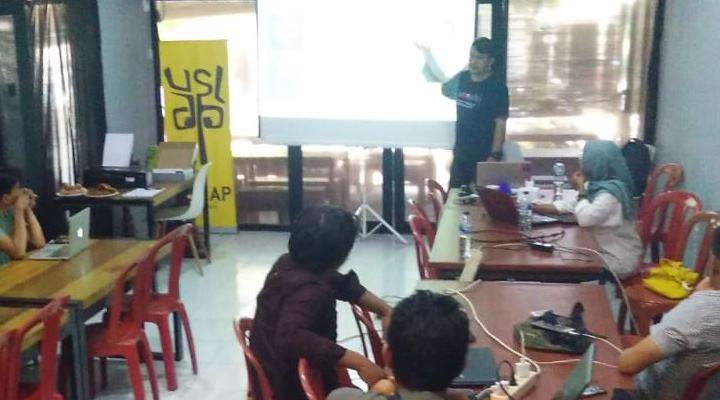 Sebanak 27 Jurnalis ikut dalam training cek fakta yang digelar AJI yang bekerja sama dengan Google News Initiativee (GNI)