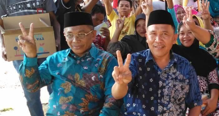 Bupati Darwis Moridu dan Wakil Bupati Anas Jusuf
