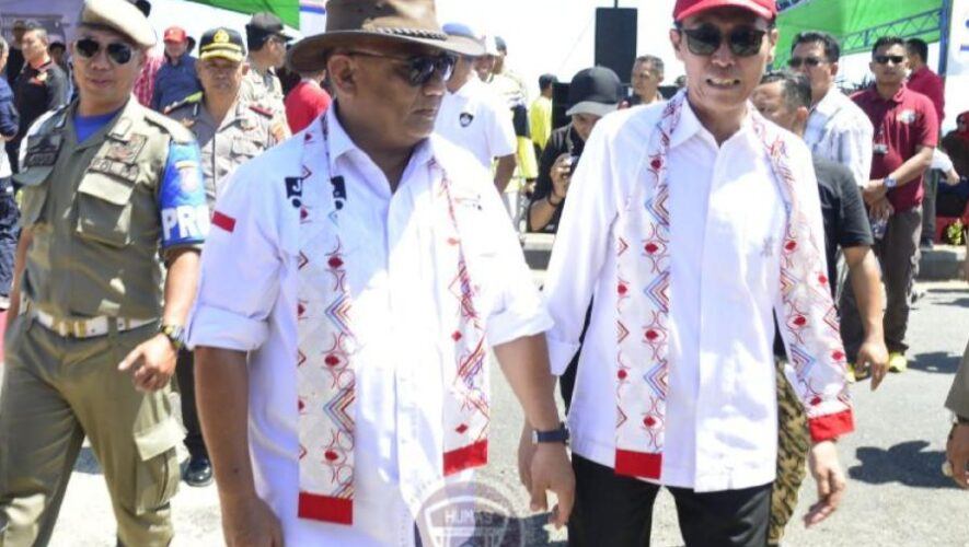 Tiba di Sulawesi Utara, Peserta Touring JWS Disambut Bapati Bolsel