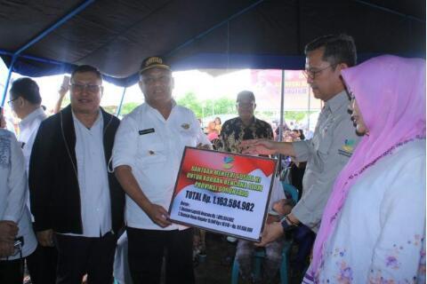 Banjir Melanda Gorontalo, Kemensos RI Beri Bantuan Rp 1,16 Miliar
