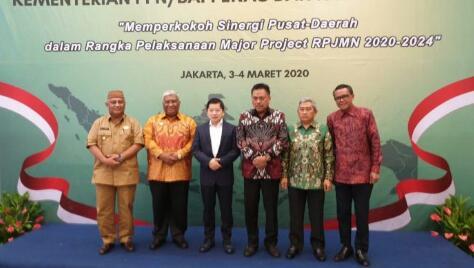 Gubernur Gorontalo, Paparkan Tiga Usulan Prioritas Daerah di Bappenas
