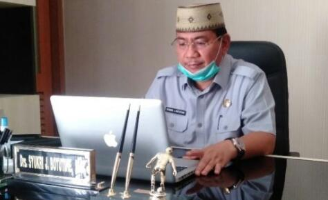 Asisten Bidang Pemerintahan Sekretariat Daerah Provinsi Gorontalo, Sukri Botutihe. (Foto : Istimewa)