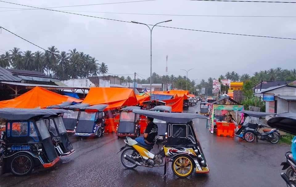 Pasar tradisional Tilamuta
