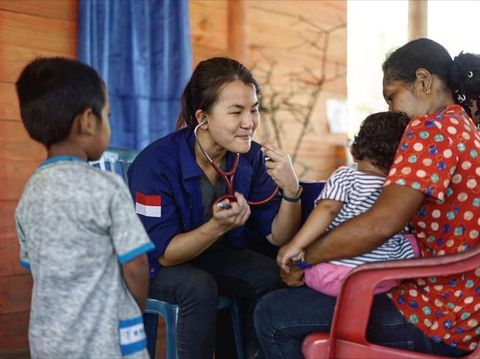 dr. Debryna Dewi Lumanauw, dokter relawan corona/Prosesnew.id