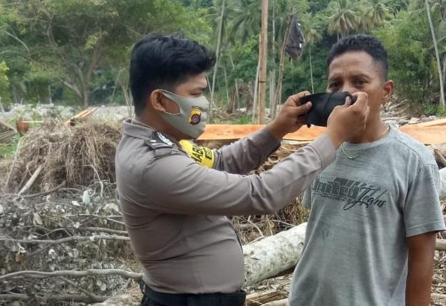 #ProsesnewsID #Covid19 #Gorontalo #3M #Polri #TNI