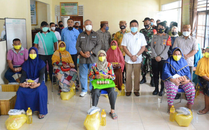 1.000 Masyarakat Terkena Dampak Covid-19 Dapat Bantuan Pangan Bersubsidi