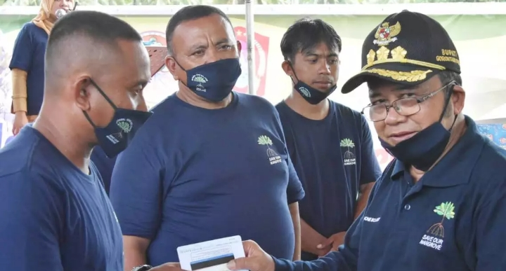 Bupati Gorontalo Utara (Gorut), Indra Yasin