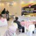 Wagub Gorontalo H. Idris Rahim memberikan sambutan pada diskusi fokus pemulihan ekonomi dan stabilitas daerah yang digelar oleh DRD Provinsi Gorontalo di Gedung Tepi Sawah, Kota Gorontalo, Senin (30/11/2020). (Foto : Haris – Humas)