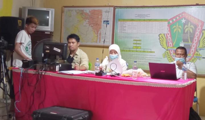 KPU Kota Gorontalo melakukan sosialisasi kepada masyarakat yang belum memiliki dokumen kependudukan