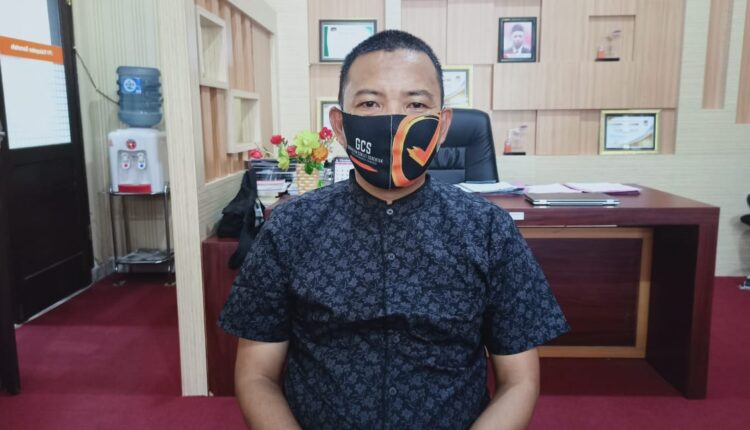 Ketua KPU Kabupaten Gorontalo Rasyid Sayiu