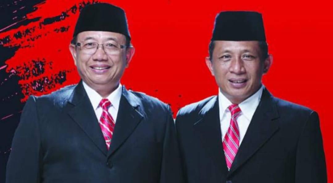 Pasangan calon Bupati Kabupaten Blitar Rijanto-Marhaenis