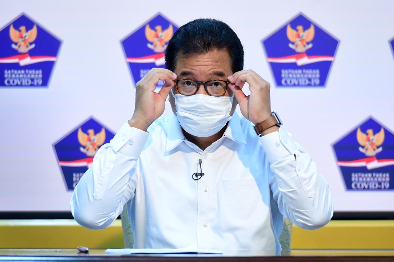 Menurut Juru Bicara Satgas Penanganan Covid-19 Prof Wiku Adisasmito