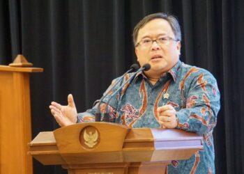 Menteri Riset dan Teknologi Bambang Brodjonegoro