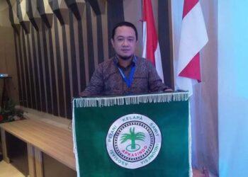 Sekretaris DPD Asosiasi Petani Kelapa Sawit Indonesia (APKASINDO) Kabupaten Pohuwato Syaiful Kadir