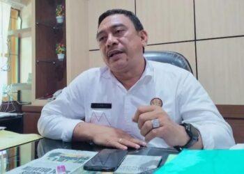 Kepala Dinas Pertanian (Distan) Kabupaten Gorontalo, Rahmat Pomalingo, Saat Diwawancarai Sejumlah Awak Media di Ruang Kerjanya, Rabu (20/01/2021). (Foto: Istimewa).