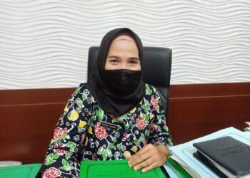 Kepala Badan Pengelola Keuangan dan Aset Daerah (BPKAD) Kabupaten Blitar, Khusna Lindarti. (Foto : Junaidi/Prosesnews.id).