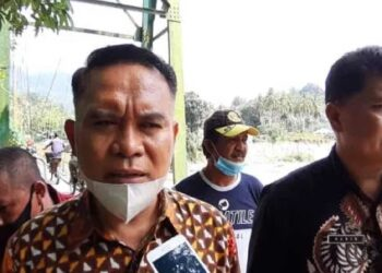 Abdul Fandit Ahmad, Kepala Bidang Bina Marga Dinas PUPR Provinsi Gorontalo. (Foto: Aan)