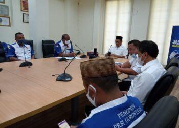 Rapat pengurus persatuan renang seluruh indonesia (PRSI) Provinsi Gorontalo
