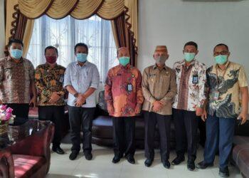Pemda Pohuwato saat menerima Kujungan dari Kemenkuham Provinsi Gorontalo. (F : Istimewa).