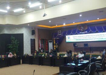 Rapat terkait Kepemudaan oleh Komisi A DPRD Kota Gorontalo (Foto : Istimewa)