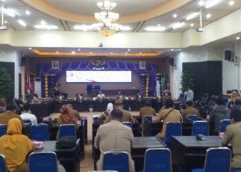 DPRD Kota Gorontalo, Minta Kejelasan Pembangunan Pasar Sentral