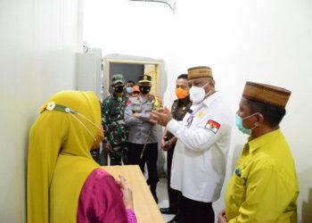 Gubernur Rusli Habibie Bersam Forkopimda