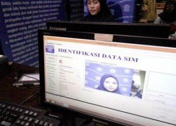 Panduan membuat SIM secara online