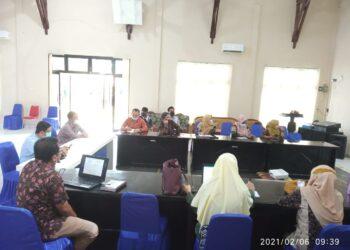 Pemkab Parigi Moutong saat menerima tim Studi Tiru dari Bangkep. (Foto : Istimewa).
