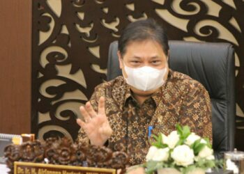 Menteri Koordinator Bidang Perekonomian, Airlangga Hartarto. (Foto : Infopublik).