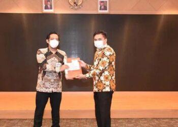 Ketua DPRD Kota Gorontalo, Laporkan Harta Kekayaan KPK RI