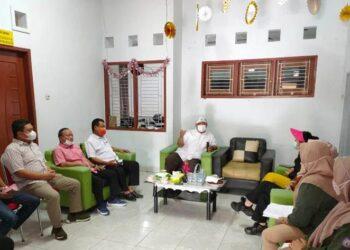 Kunjungan kerja Komisi II DPRD Provinsi Gorontalo, di Kantor Kesatuan Pengelolaan Hutan (KPH) Wilayah IV, Kabupaten Gorontalo Utara., Kamis (11/2/2021). (Foto: Aan)