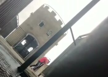 tangkapan layar Video mesum yang tengah viral di media sosial