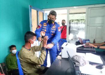 Dit Polair Polda Gorontalo Amankan Nelayan Gunakan Bom