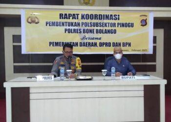 Kecamatan Pinogu Segera Miliki Kantor Polisi Sub Sektor