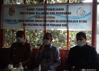 Direktur Politeknik Kelautan dan Perikanan Bitung Ir Adi Suseno