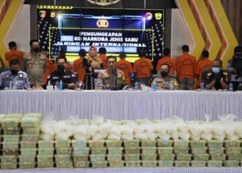 Polda Aceh Ungkap Kasus Narkotika Jaringan Internasional