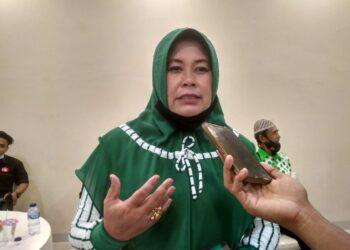 Ketua Komisi B Dewan Perwakilan Rakyat Daerah (DPRD) Kota Gorontalo Leny Ontalu