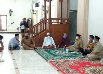 Pembentukan Pengurus Masjid Agung, Marten Taha Tegaskan Peran Takmirul