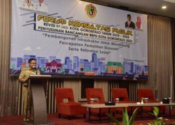 Wali Kota Gorontalo Marten A. Taha