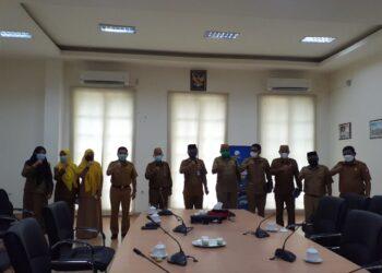 Sekretaris Daerah beserta Asisten I Provinsi Gorontalo melakukan Kunjungan ke Pemerintah Kabupaten Bone Bolango