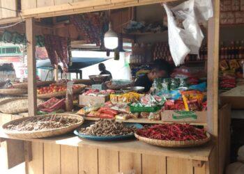 Pedagang pasar Sentral