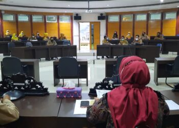 Rapat Komisi II Deprov Gorontalo