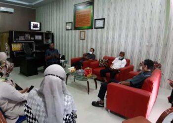 Komisi IV Dewan Perwakilan Rakyat Daerah (DPRD) Provinsi Gorontalo melakukan kunjungan kerja ke Dinas Kependudukan dan Pencatatan Sipil (Dukcapil) Boalemo