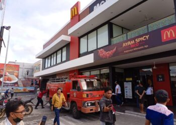 Ini Dugaan Penyebab Restoran Mcdonald's di Gorontalo Terbakar