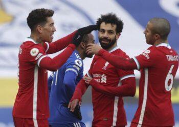 Mohamed Salah (rambut keriting) berhasil menyumbang 17 gol.  (Foto : Istimewa).