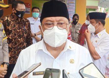 Wali Kota Blitar, Santoso. (Foto : Dwi/Prosesnews.id)